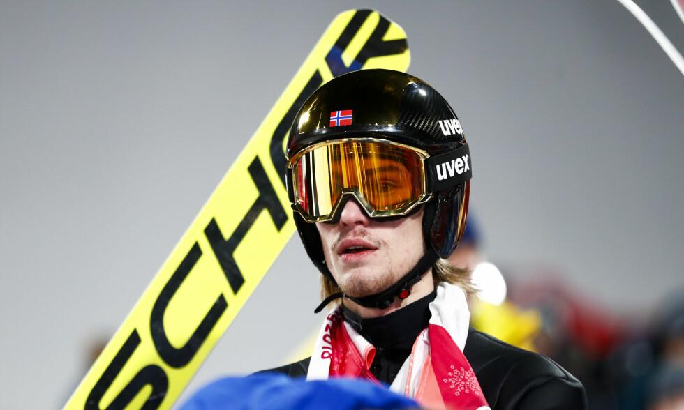 BESTE NORDMANN: Daniel-André Tande ble nummer åtte i kvalifiseringen. Foto: Terje Pedersen / NTB scanpix