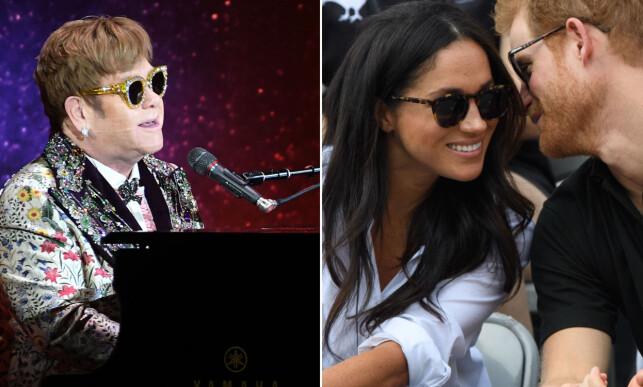 POPULÆR: Kanskje får Elton John også opptre i bryllupet? Foto: NTB Scanpix
