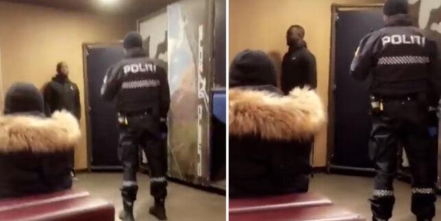 image: Politiet tilbyr seg å møte mennene de ransaket, for å forklare seg. Sami (19) og Emmanuel (20) sier ja til invitasjonen