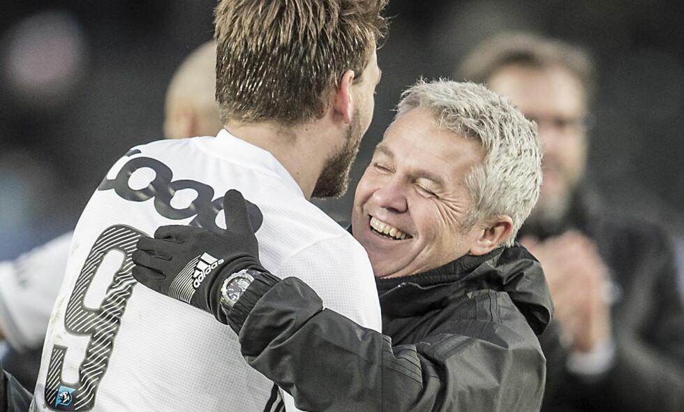 KAN SMILE: Rosenborg-konsernet omsatte for hele 304,4 millioner kroner i fjor. Foto: Hans Arne Vedlog / Dagbladet