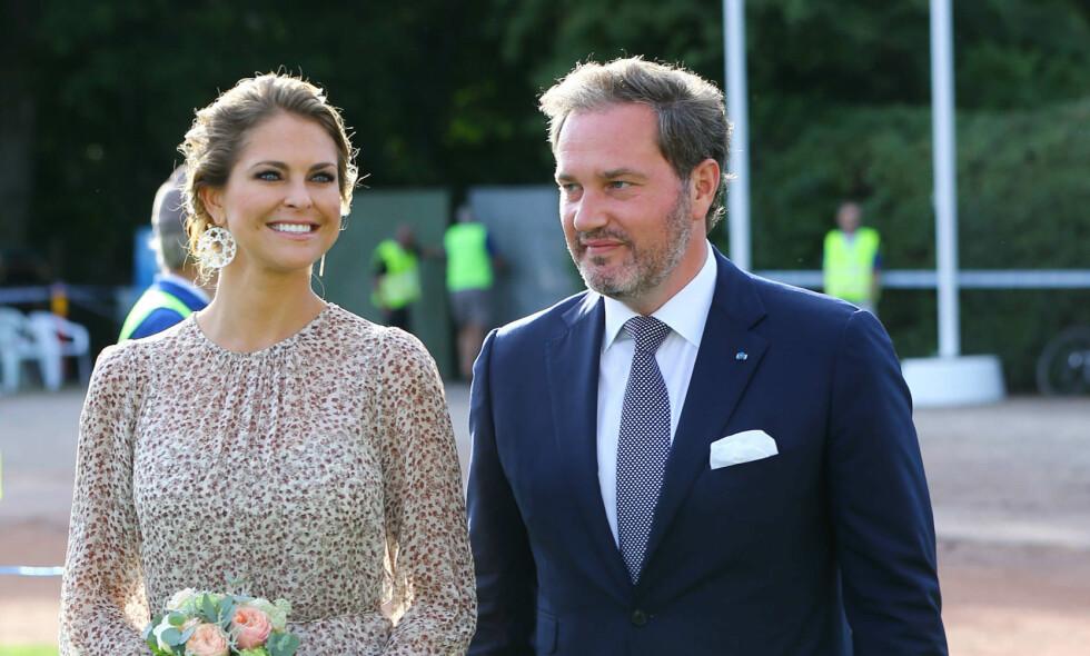 EN PRINSESSE OG HENNES MANN: Chris O'Neill kunne valgt å bli prins av Sverige. Det hadde han derimot ingen intensjon om. Tittelen ville sørget for at han måtte gi opp mye. Foto: NTB scanpix