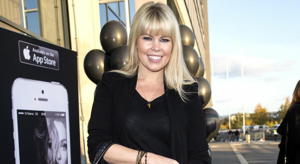 VENTER SITT FØRSTE BARN: TV-profil og stylist Marianne Jemtegård annonserte den gledelige nyheten i «God morgen Norge» fredag formiddag. Foto: Andreas Fadum / Se og Hør