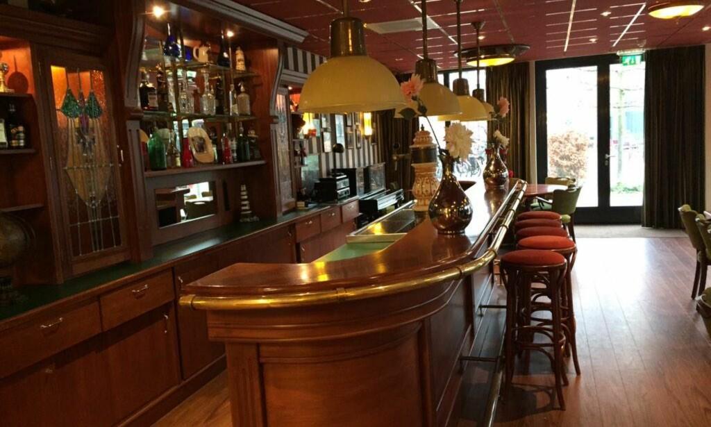 ØKT TRIVSEL: På sykehjemmet i Nederland er det også en pub som skal være med på å øke trivselen. Foto: Karina Absbøl