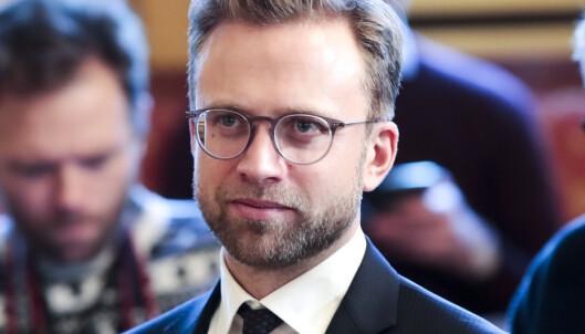 <strong>MÅ GÅ?:</strong> Utviklingsminister Nikolai Astrup (H) kan være blant de statsrådene som må gå eller skifte beite. Foto: Lise Åserud / NTB scanpix
