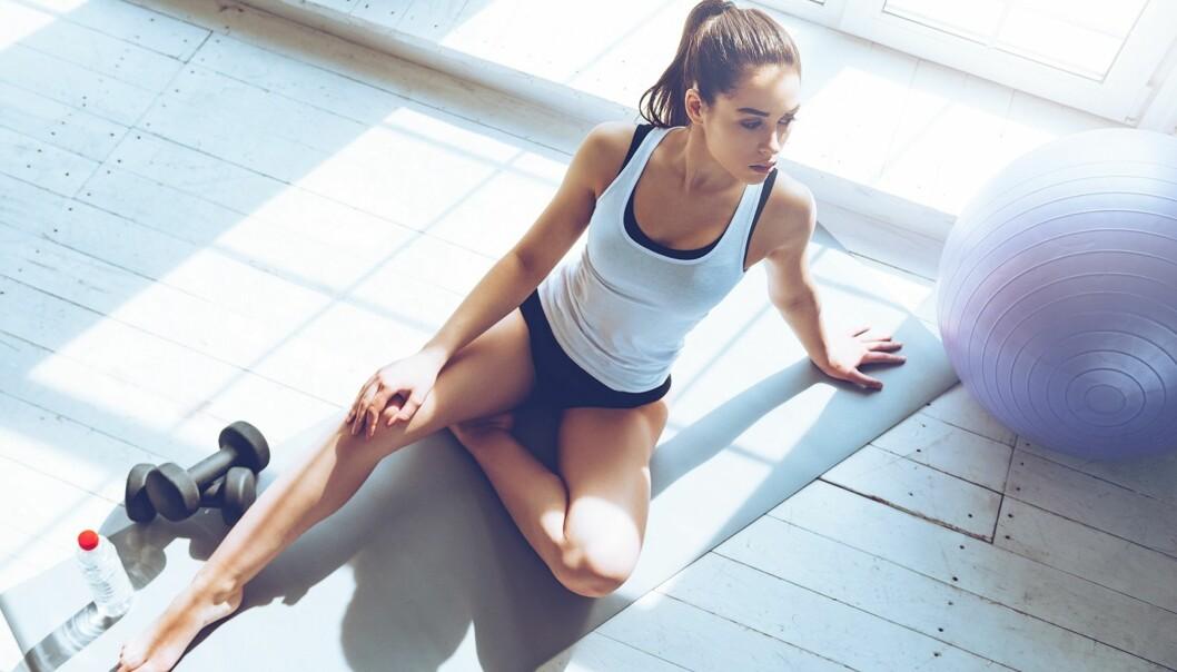 UTILPASS PÅ TRENING: Det er lett å føle seg utilpass når man er omgitt av veltrente mennesker, men ikke la det stoppe deg fra å trene. FOTO: NTB Scanpix