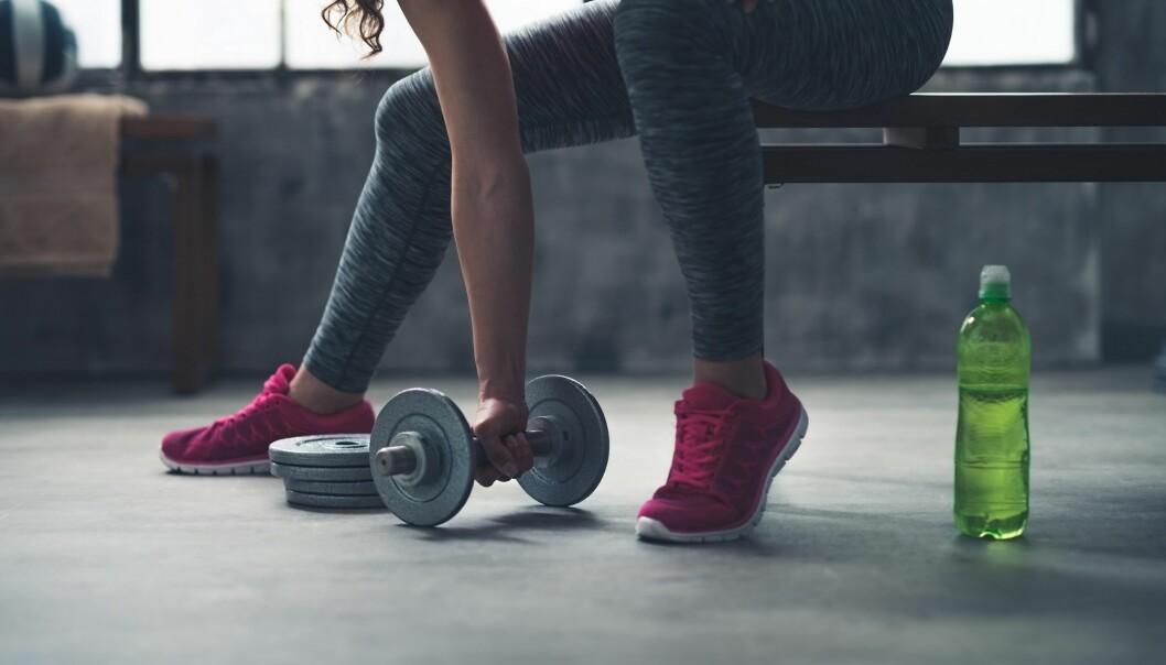 TRENINGSMÅL: Sett deg mål for treningen og gjennomfør. FOTO: NTB Scanpix