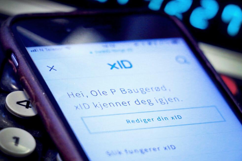<strong>KAN BLI UTBREDT:</strong> Foreløpig får du kun brukt xID på BankID sine egne nettsider. Det kan snart endre seg. Foto: Ole Petter Baugerød Stokke
