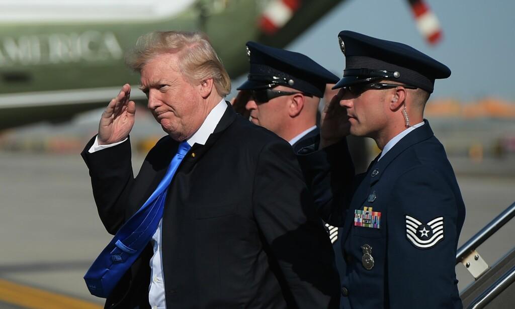 KRITIKK: Trumps planer om å markere USAs nasjonaldag 4. juli med en militærparade, får krass kritikk, blant annet fra en av USAs mest kjente Navy Seal-soldater. Foto: AFP