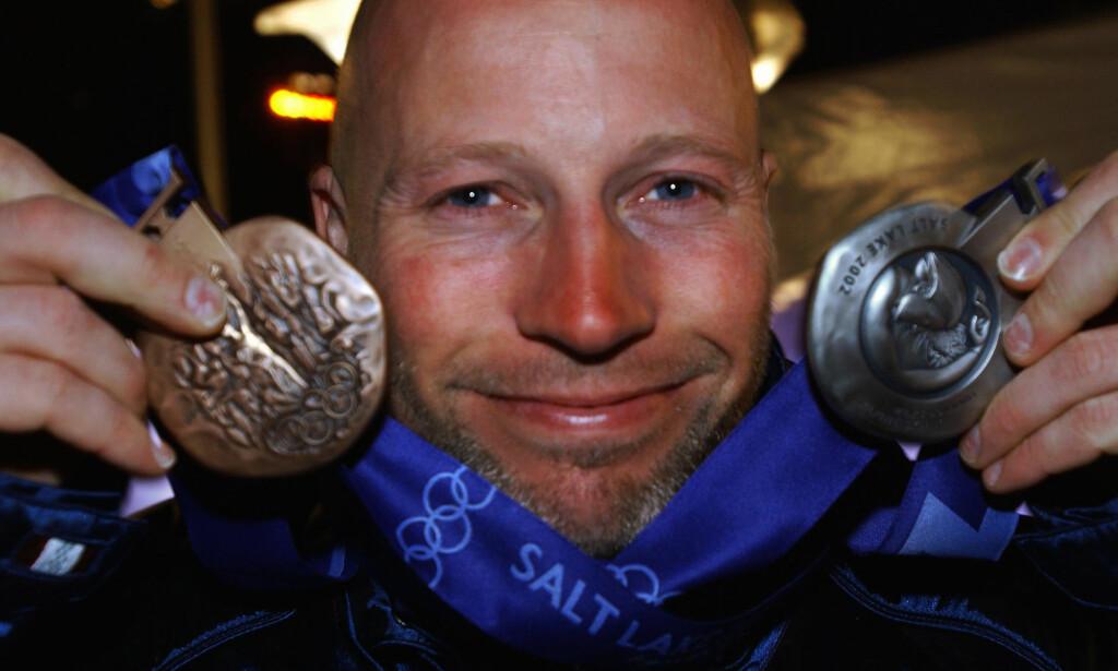 TO MEDALJER: Lasse Kjus tok sølv og bronse under OL i Salt Lake City i 2002. Foto: Tor Richardsen / SCANPIX