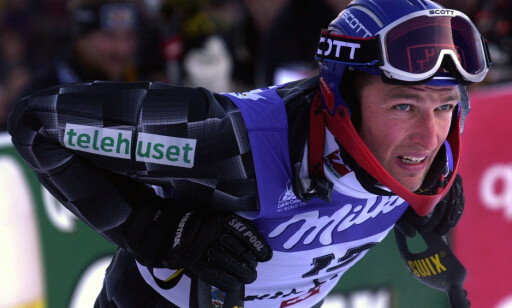 SKREKKBAKKEN: Tom Stiansen etter et renn i Kitzbühel. Foto: Tor Richardsen / SCANPIX