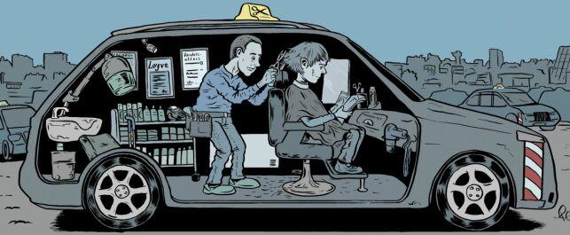 image: Hvis din frisør var en taxi