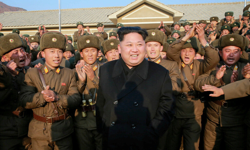 OVERRASKER: Nord-Koreas president Kim Jong-un. Foto: NTB Scanpix