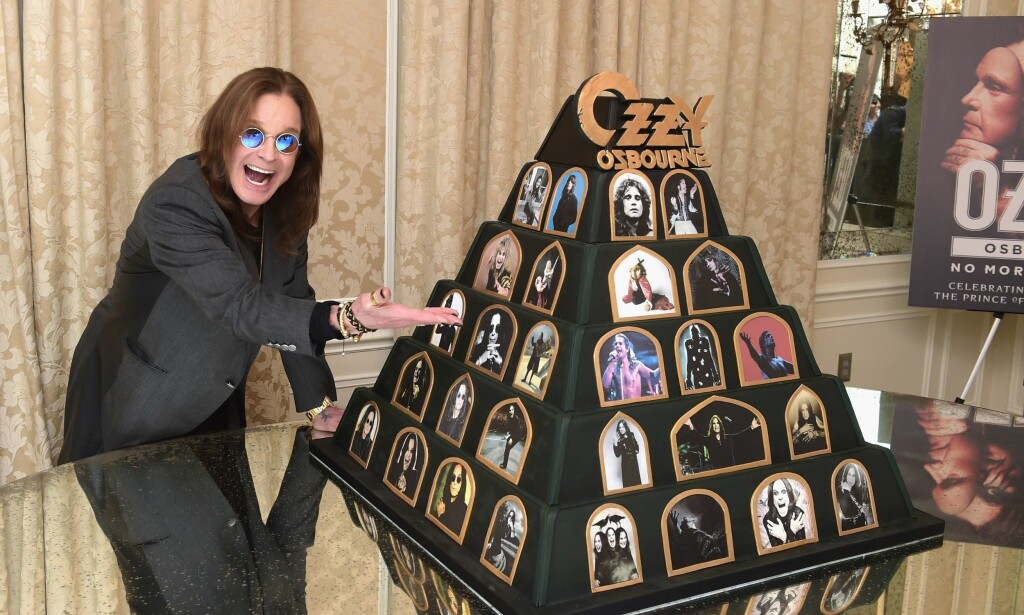 TAR FARVELL. IGJEN: Ozzy Osbourne lanserte før helgen avskjedsturneen No More Tours 2 fra sitt hjem i Hollywood. Kevin Winter/Getty Images