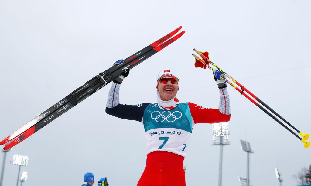 OLYMPISK MESTER: Simen Hegstad Krüger. Foto: REUTERS/Carlos Barria
