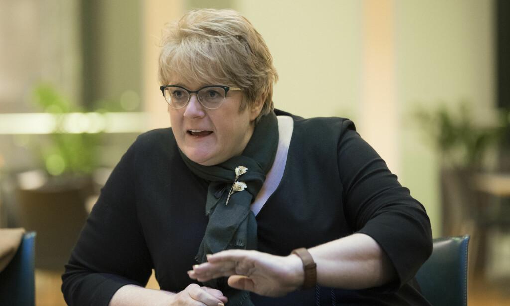 TOK FEIL: Kulturminister Trine Skei Grande. Foto: Berit Roald / NTB scanpix