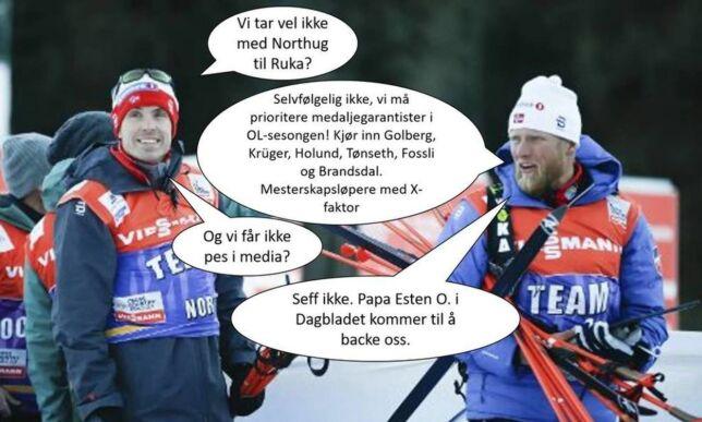 image: De gjorde narr av OL-mesteren. Det var visst ikke så veldig glupt