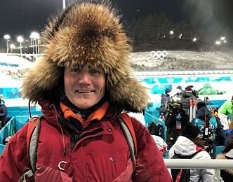 <strong>GLAD:</strong> Pappa Sigvart Bjøntegaard er glad for at sønnen fikk sjansen i OL.