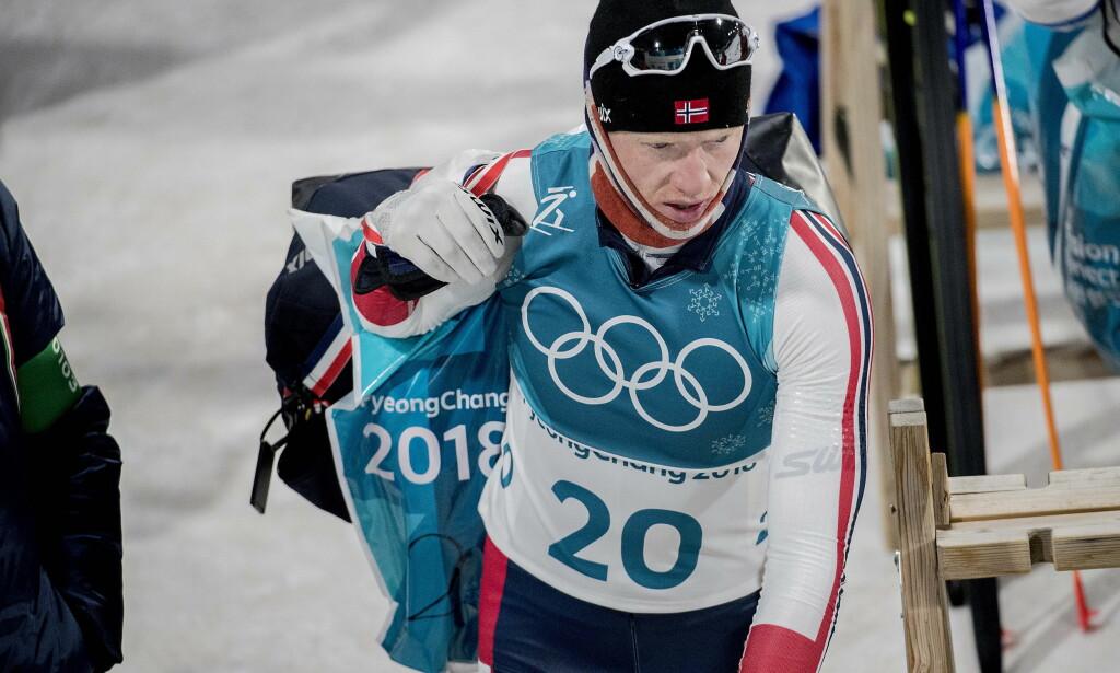 SKUFFET: Johannes Tingnes Bøe endte på 31. plass. Foto: Bjørn Langsem / Dagbladet