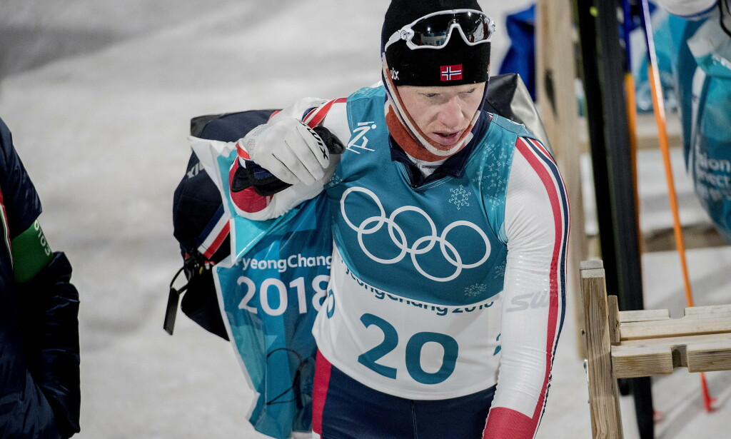 TUNG OL-START: Johannes Thingnes Bø har slitt i OL, men går for gull på normaldistansen i dag. Foto: Bjørn Langsem / Dagbladet