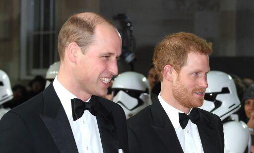 image: Prins William og Harry ble kuttet fra «Star Wars»