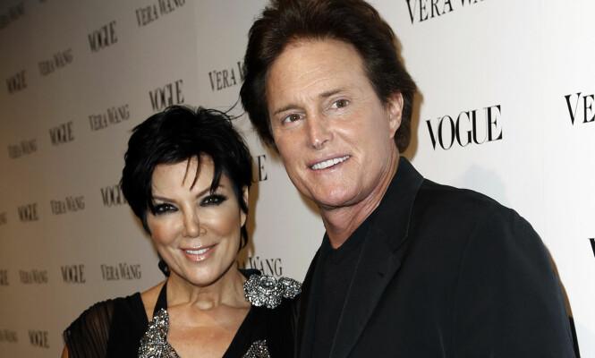 GIKK HVER TIL SITT: Kris Jenner og Bruce Jenner (nå Caitlyn) var gift fra 1991 til 2014. Foto: NTB scanpix