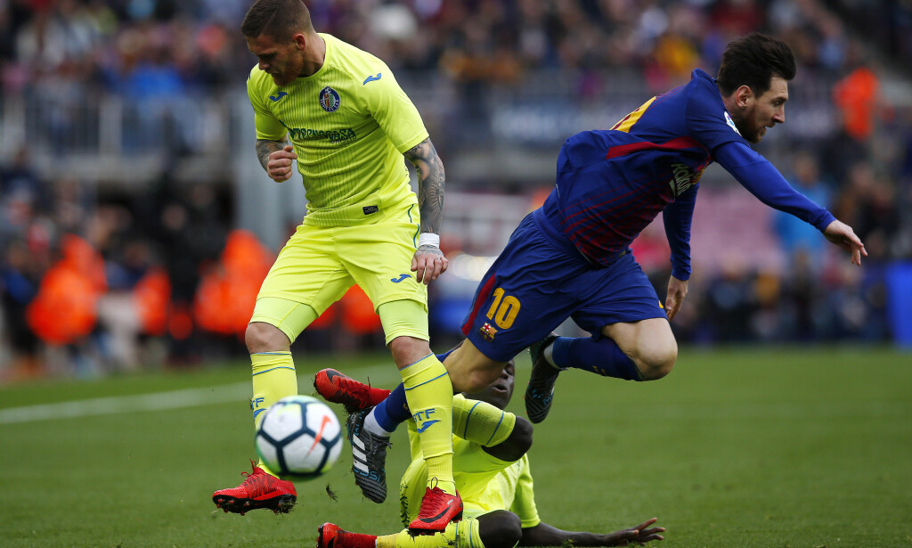 Målløst: Det endte målløst i kampen mellom Barcelona og Getafe. FOTO: Manu Fernandez/ AP Photo