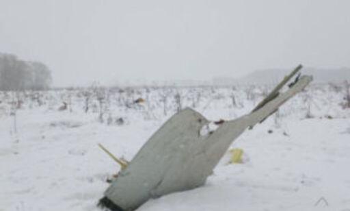 image: Ingen nødmeldinger fra passasjerfly før det styrtet utenfor Moskva