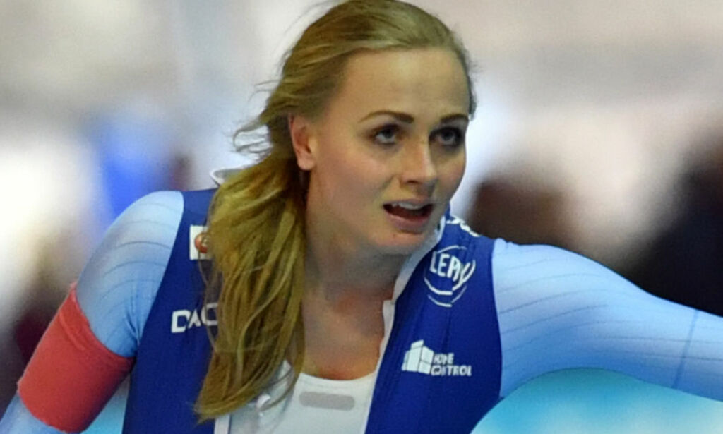 image: Da Hege Bøkko la seg i senga i OL-byen, trodde hun at noen tulla