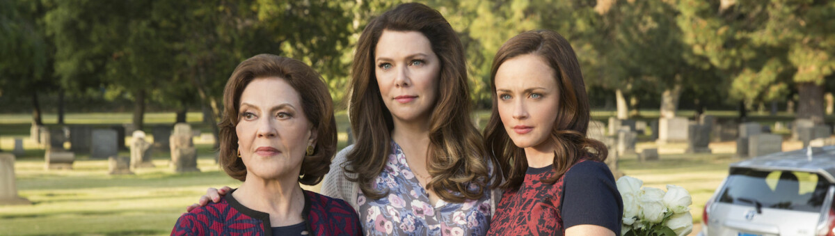 TV-SERIER: Under finner du en liste over de mest populære TV-seriene fra året du ble født. FOTO: Skjermdump «Gilmore Girls»