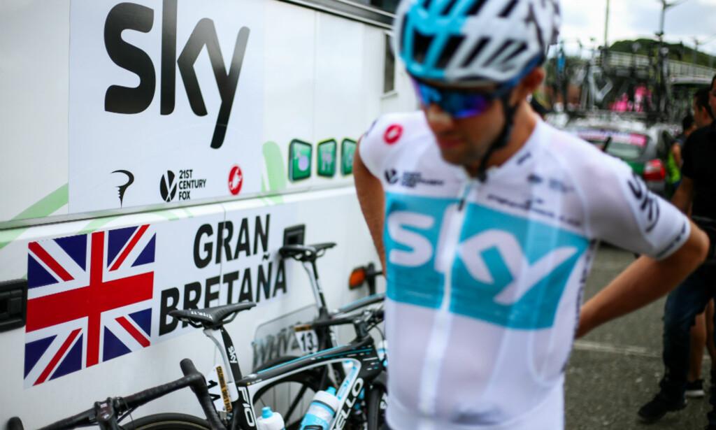 SKAL HA BRUKT INTRAVENØSE BEHANDLINGER: Det hevder en tidligere lege i Team Sky. FOTO: Tim de Waele (TDWSport.com)