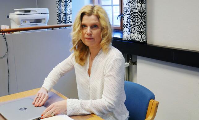 FORSVARER: Jannicke Keller-Fløystad fra Advokatfirmaet Elden forsvarer 43-åringen. Foto: Leif Stang / Dagbladet
