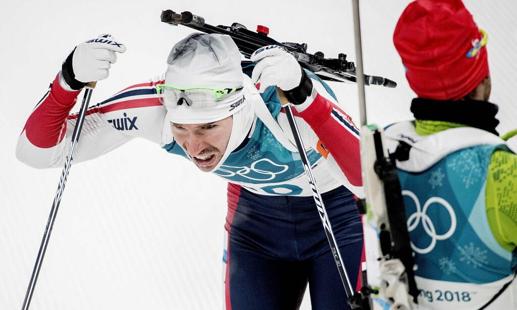 ANKERMANN: Emil Hegle Svendsen skal gå ankeretappen i skiskytterstafetten. Foto: Bjørn Langsem / Dagbladet