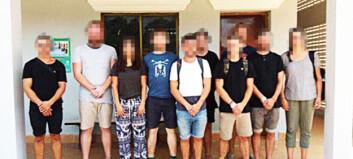 Sju utlendinger løslatt, men 22 år gammel nordmann fortsatt fengslet i Kambodsja