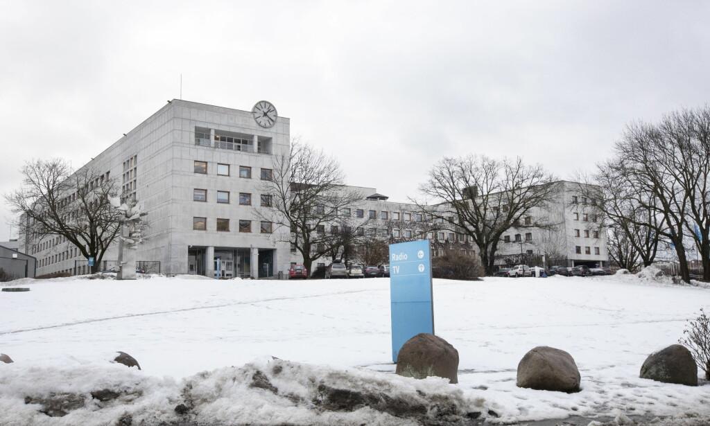 VARSLER: Det er blitt varslet om at 15 personer som jobber i NRK Marienlyst har utsatt kolleger for seksuell trakassering. Foto: Gorm Kallestad / NTB scanpix
