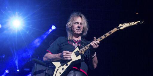 image: Judas Priest-gitaristen har fått Parkinsons. Holdt sykdommen skjult