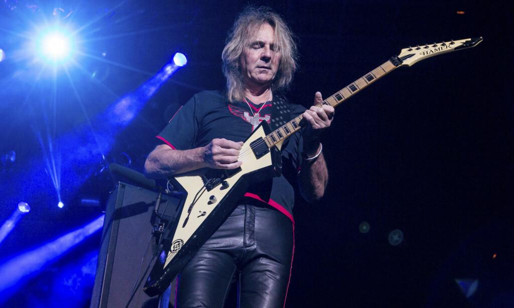 Turné-slutt: Glenn Tipton blir ikke med på Judas Priests live-runde i kjølvannet av det nye albumet. Foto: NTB scanpix