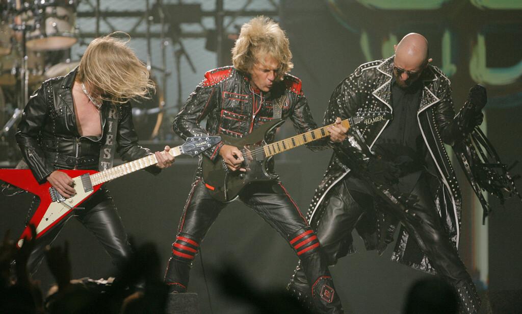 Nagler og lær: Judas Priest i 2006. Foto: NTB scanpix