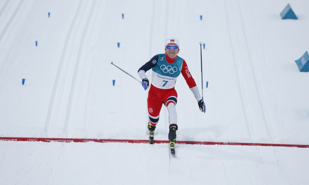 BRA PROLOG: Maiken Caspersen Falla ble nummer to i sprintprologen. Foto: Bjørn Langsem/Dagbladet