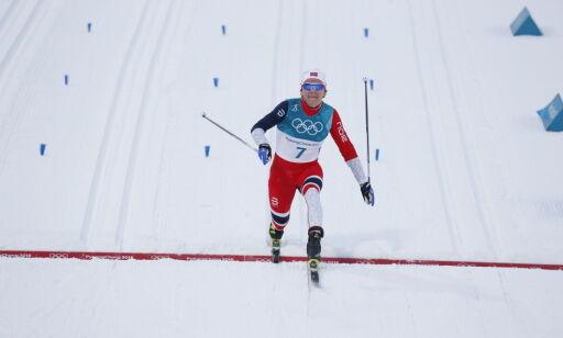 image: Falla bare slått av Nilsson i sprintprologen