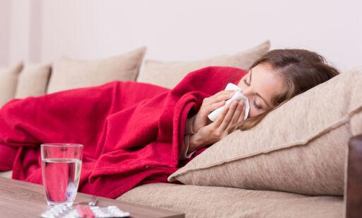 image: Symptomer ved influensa som bør tas på alvor
