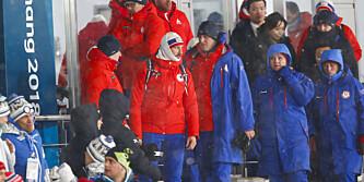 Ser du hvem som dukket opp på OL-tribunen?