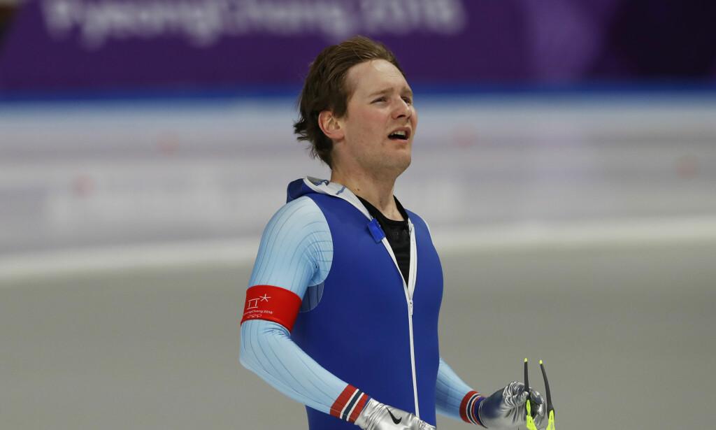 SKUFFET: Sverre Lunde Pedersen skuffet og ble nummer ni etter å ha havnet i ubalanse i den siste runden. Foto: Scanpix