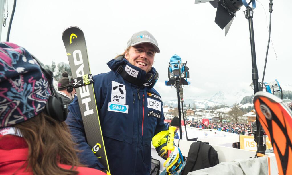 EKSPERTEN: Aleksander Aamodt Kilde er en av verdens beste på alpinski. Nå deler han av sin erfaring. Foto: Skiforbundet / Process Films