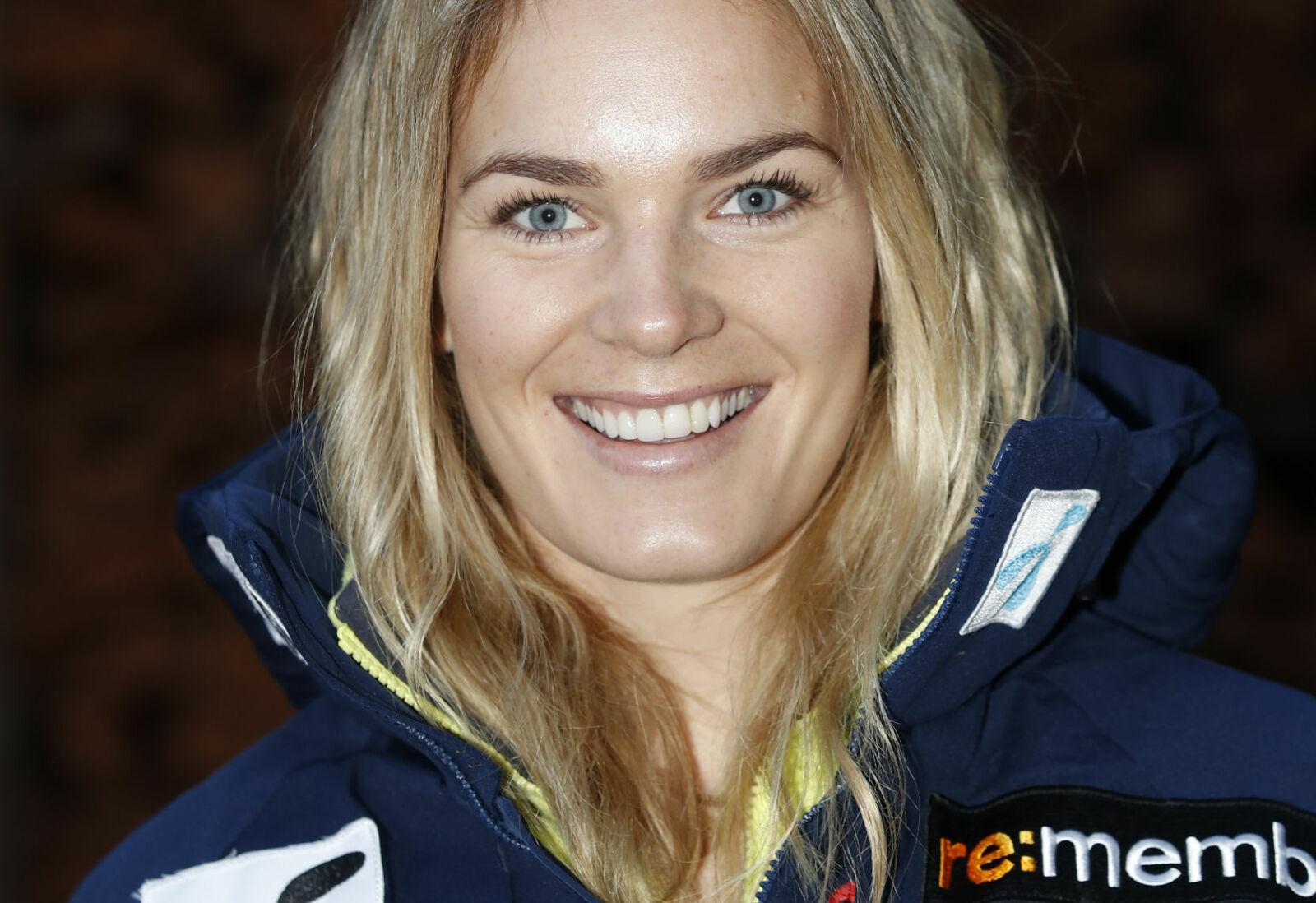 VANT VERDENSCUPRENN: Nina Haver-Løseth står på at øvelse gjør mester. Foto: NTB Scanpix / Skiforbundet