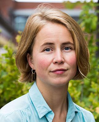RYSTET: Ny leder av Framtiden i våre hender, Anja Bakken Riise. Foto: Mariam Butt / NTB scanpix