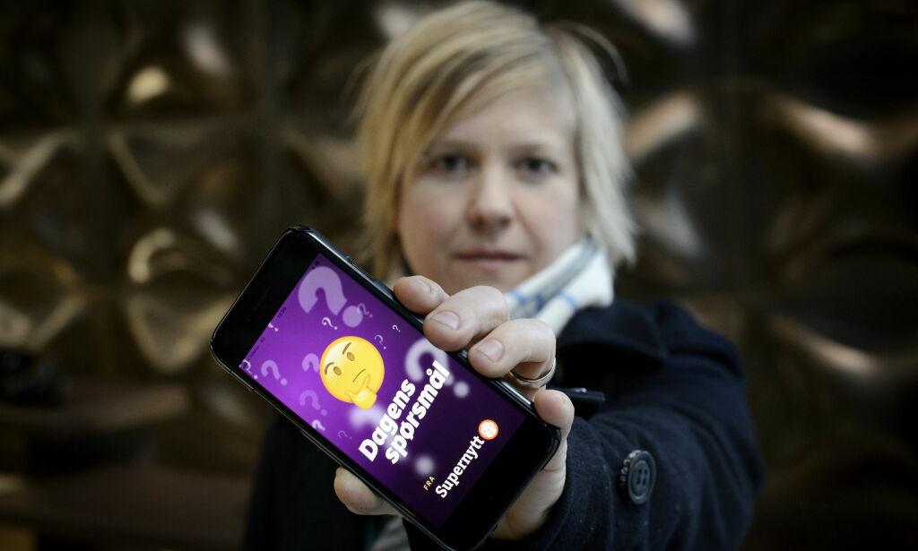 image: Raser mot godterispørsmål i Supernytt-app: - Snikreklame