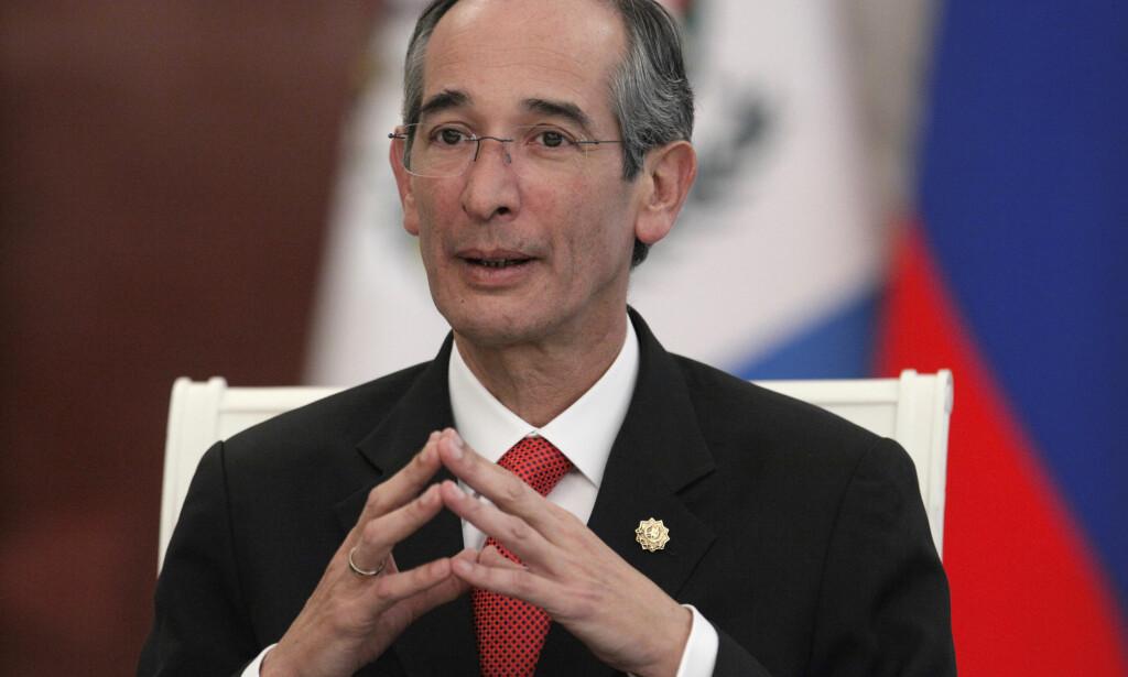 KORRUPSJON: Guatemalas tidligere president Alvaro Colom er pågrepet, siktet for korrupsjon. Foto: Aleksandr Zemlianitsjenko / AP / NTB scanpix