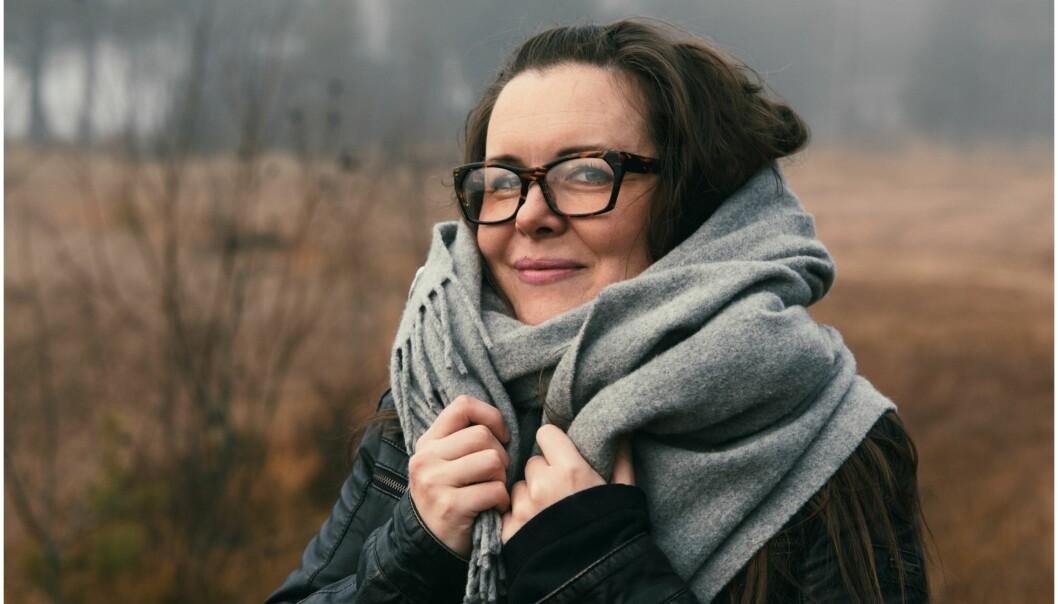 ADMINISTRATOR: Cathrine Louise Finstad bruker all sin fritid på å plukke ut hemmeligheter, illustrere dem og dele det ut på sosiale kanaler. Til sammen får hun inn mellom 30-50 hemmeligheter hver eneste dag. FOTO: Kjetil Haugen