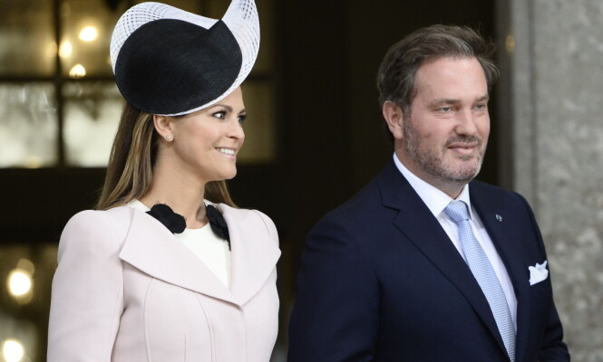 FIRE BLIR FEM: Prinsesse Madeleine og ektemannen Chris O'Neill venter sitt tredje barn sammen. Foto: NTB scanpix