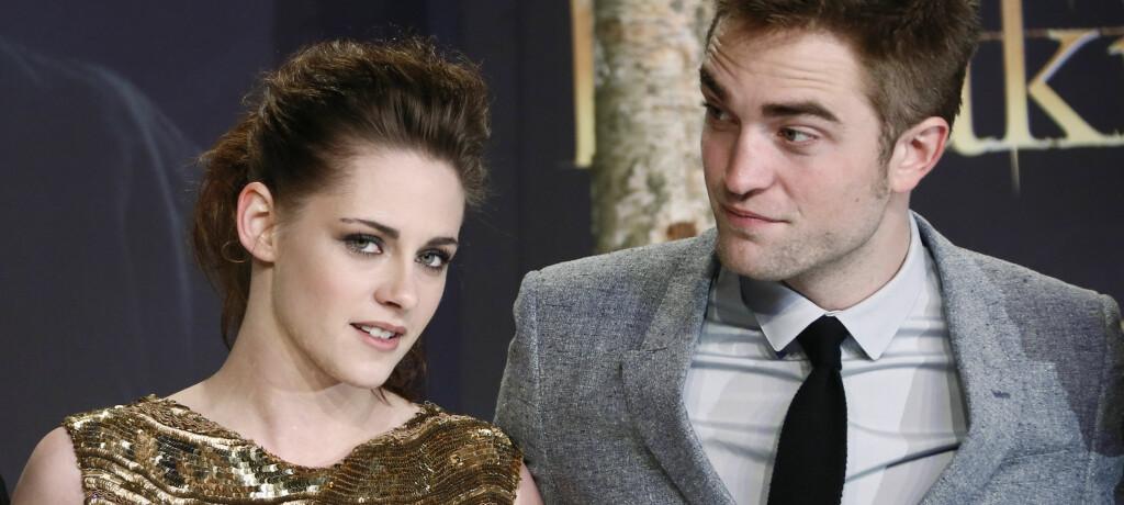 OBSERVERT SAMMEN: Kan det være noe på gang igjen mellom Kristen Stewart og Robert Pattinson igjen...? Vi krysser fingrene! FOTO: Scanpix
